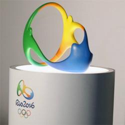Olympics Rio 3d logo
