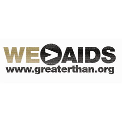 Greater Than AIDS logo