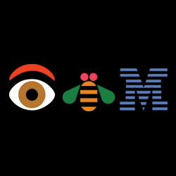 eye bee m logo