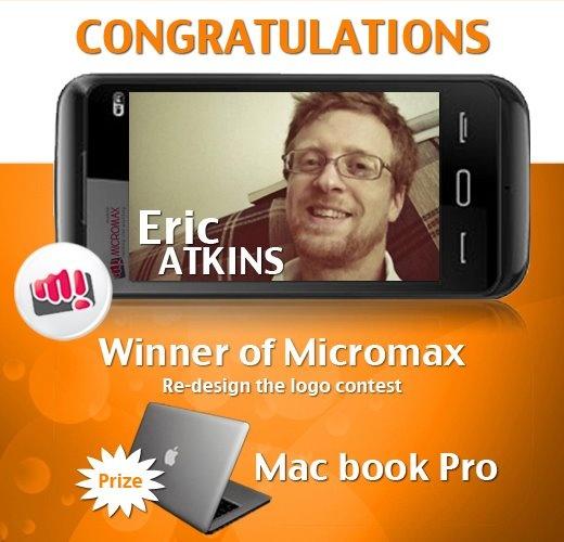 Eric Atkins Congrats